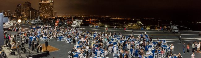 Overview of Event on USS Midway