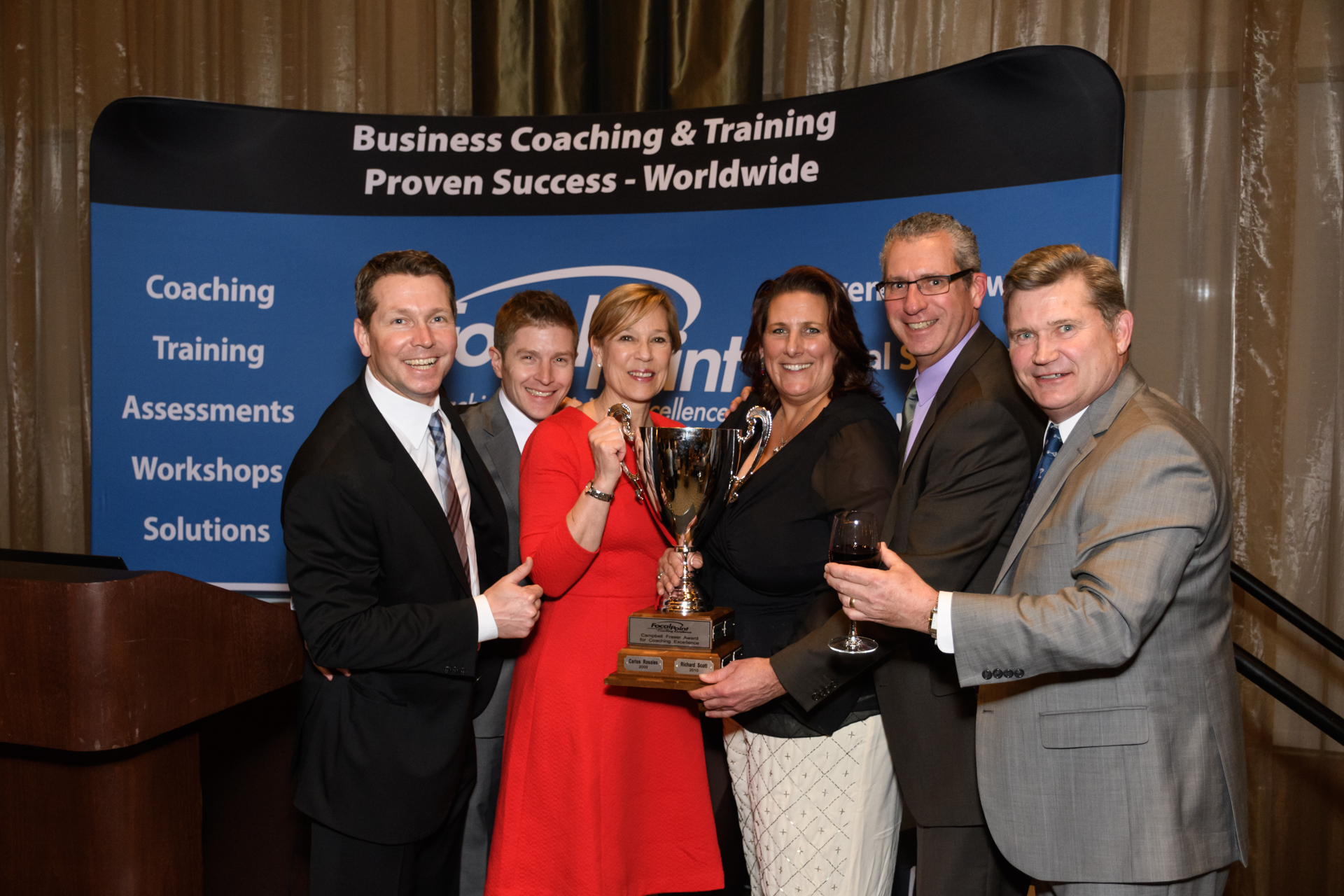 winners at annual meeting