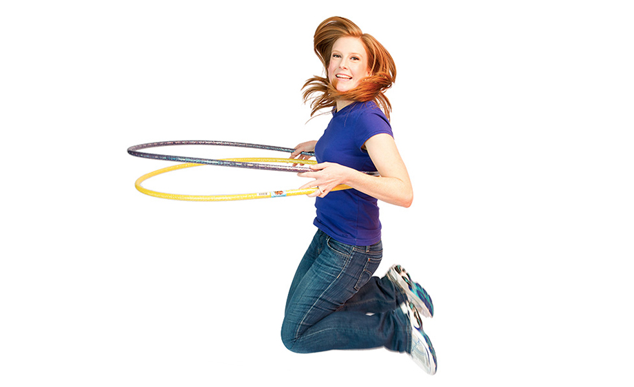 Hula Hoop and jump in action